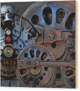 Iron Circles No. 2 Wood Print