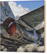 Iron Eagle Wood Print