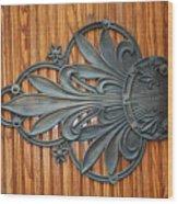 Iron Flowers Wood Print