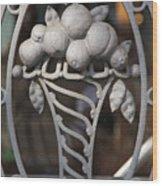 Iron Fruit Wood Print