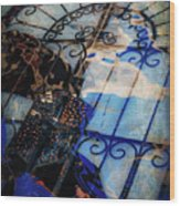 Iron Gate Abstract Wood Print