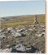Iron Howe On Cow Ridge Wood Print
