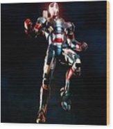 Iron Man 3 Wood Print