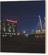 Iron Viaduct Wood Print