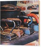 Irons Wood Print