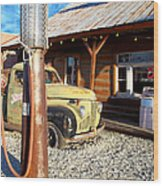Is That You - Route 66 California Wood Print