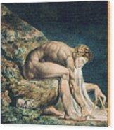 Isaac Newton Wood Print