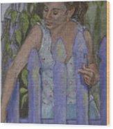 Isabel At The Gate Wood Print