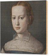 Isabella De Medici  Wood Print