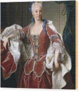 Isabella Farnese. Queen Of Spain Wood Print