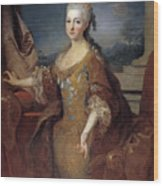 Isabella Louise Of Orleans. Queen Of Spain Wood Print