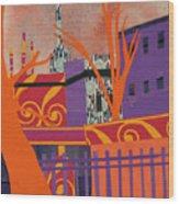 Isabella's Garden Wood Print
