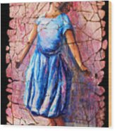 Isadora Duncan - 2 Wood Print