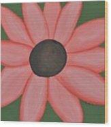 Isaiah's Flower Wood Print