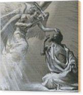 Isaiah's Vision Wood Print