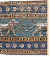 Ishtar Gate Wood Print
