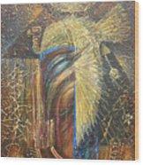 Isis. Egyptian Goddess Wood Print