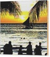 Isla De Boracay Wood Print