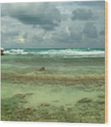 Isla De Mujeras North Shore Wood Print