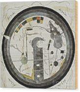 Islamic World Map, 10th Century Wood Print