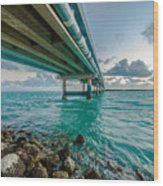 Islamorada Crossing Wood Print