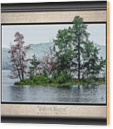 Island Breeze Wood Print