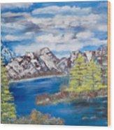 Island Cove Wood Print