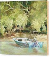 Island Ferry Wood Print