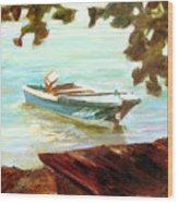 Island Hopper Wood Print