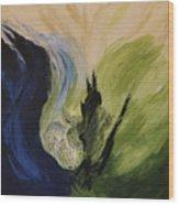 Island In The Sky Xiii Wood Print