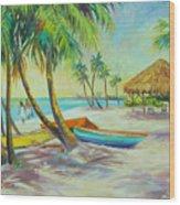 Island Memories Wood Print