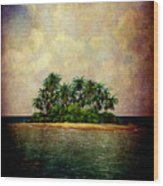 Island Of Dreams Wood Print