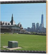 Island Park Elise Museaum Of American Immigration Journey Trip To Newyork Travel Zone America Photog Wood Print