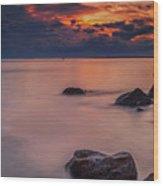 Island Retreat Wood Print