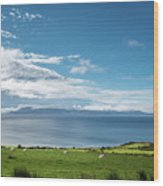 Isle Of Arran Under Cloud Wood Print