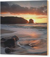 Isle Of Lewis Outer Hebrides Scotland Wood Print