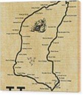 Isle Of Man Tt Wood Print