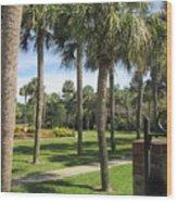 Isle Of Palms Wood Print