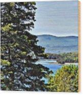 Islesboro View  Wood Print