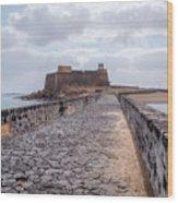 Islote De Los Ingleses - Lanzarote Wood Print