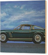 Iso Grifo Gl 1963 Painting Wood Print