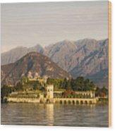 lake Maggiore, Borromean island, Piedmont Italy Wood Print