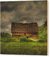 Isolated Barn Wood Print