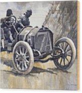 Isotta Fraschini 50hp 1908 Targa Florio  Wood Print