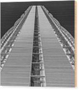 Isozaki Tower - Allianz Wood Print