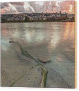 Israel Coast Wood Print