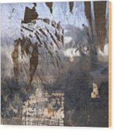 Israel, Jerusalem Abstract Of A Window Wood Print