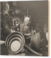 Israel: Metal Workers, 1938 Wood Print