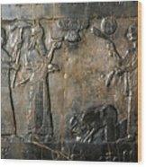 Israelite Submission Wood Print