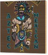 Issachar Aztec Warrior Wood Print